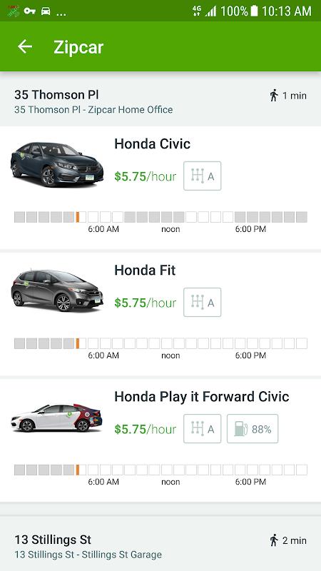 Screenshot Zipcar APK