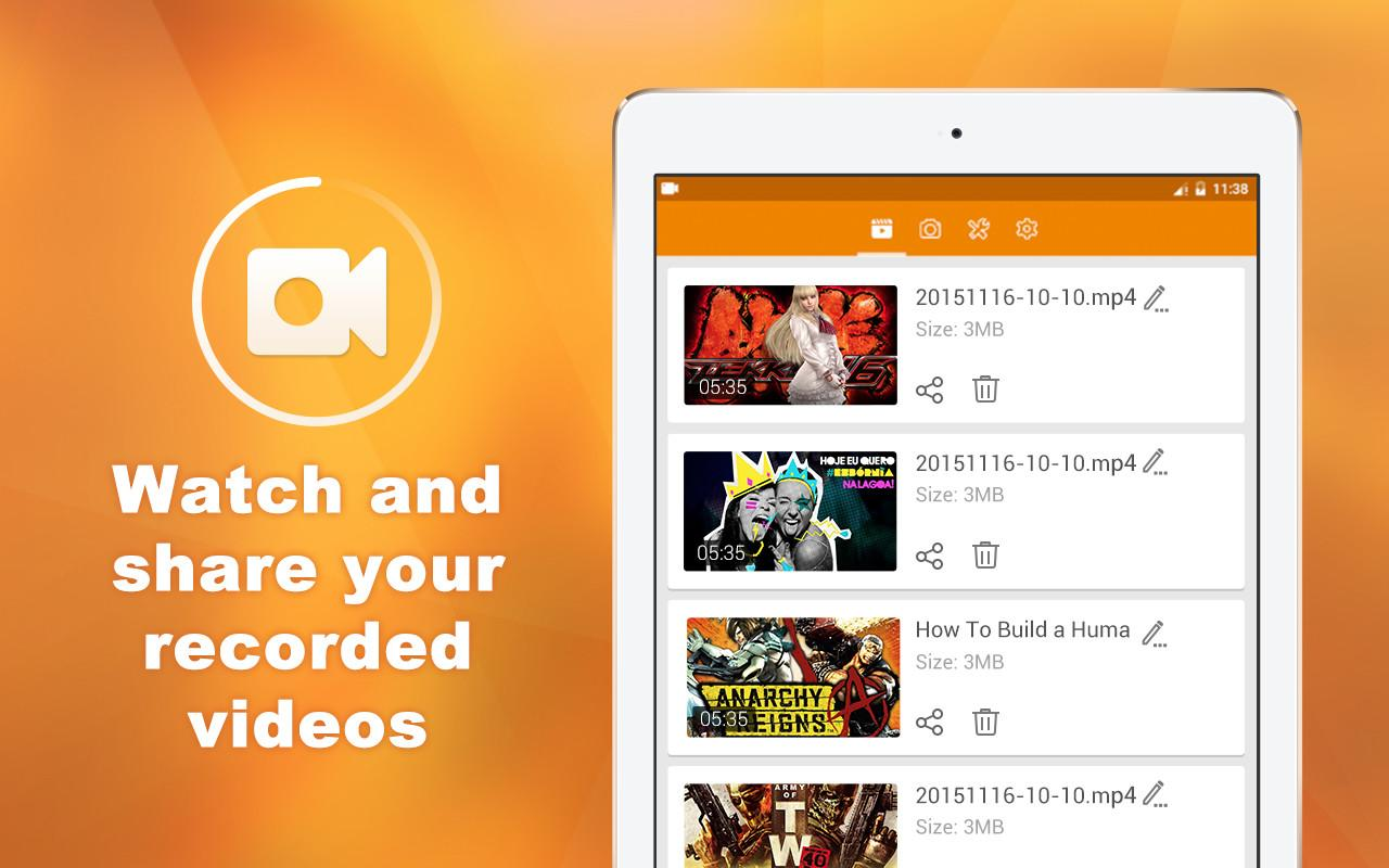 Screenshot DU Recorder � Screen Recorder & Video Editor APK