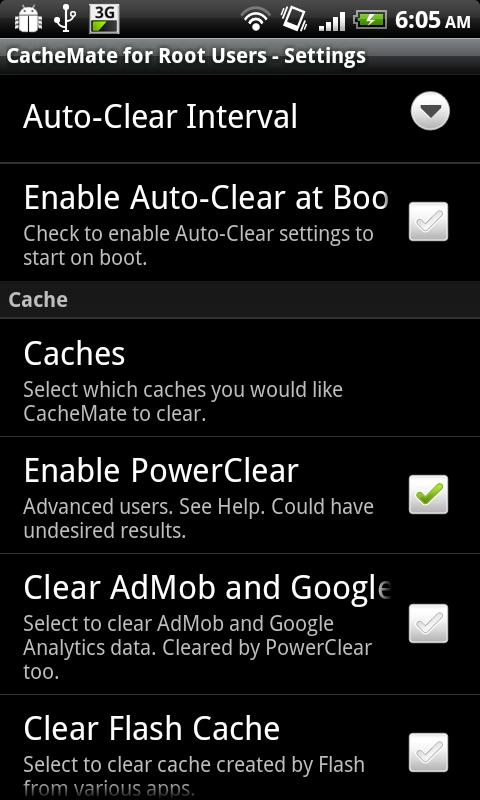 CacheMate for Root Users The App Store