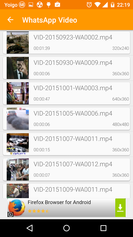 Screenshot VIKING  Player HD for Android APK