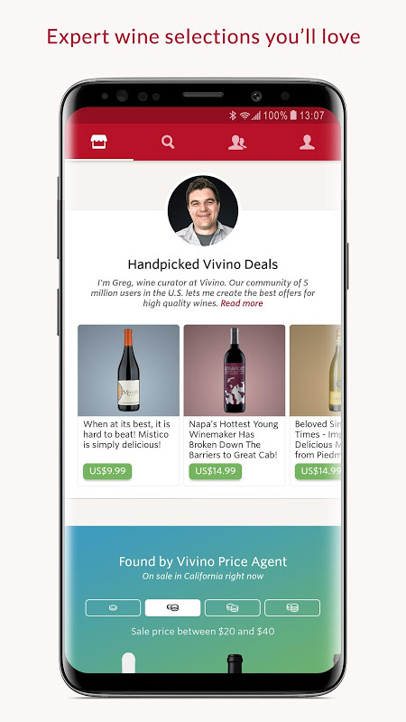 Screenshot Vivino: Wine Made Easy APK