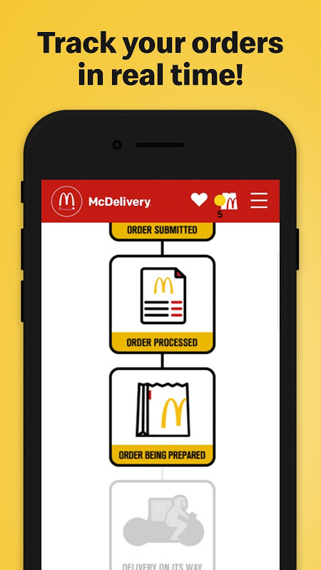 McDo Philippines The App Store android Code Lads