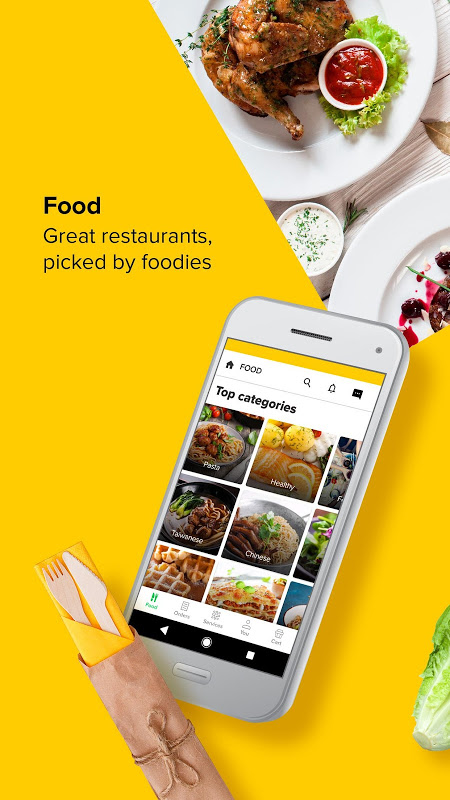 Screenshot honestbee: Grocery delivery & Food delivery APK