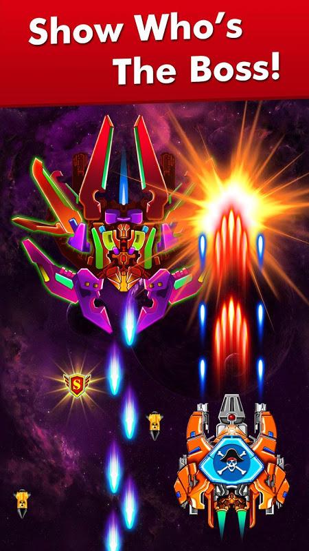 Screenshot Galaxy Attack: Alien Shooter APK
