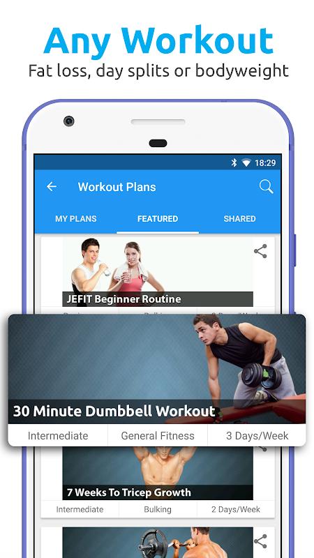 JEFIT Workout Tracker, Weight Lifting, Gym Log App The App Store