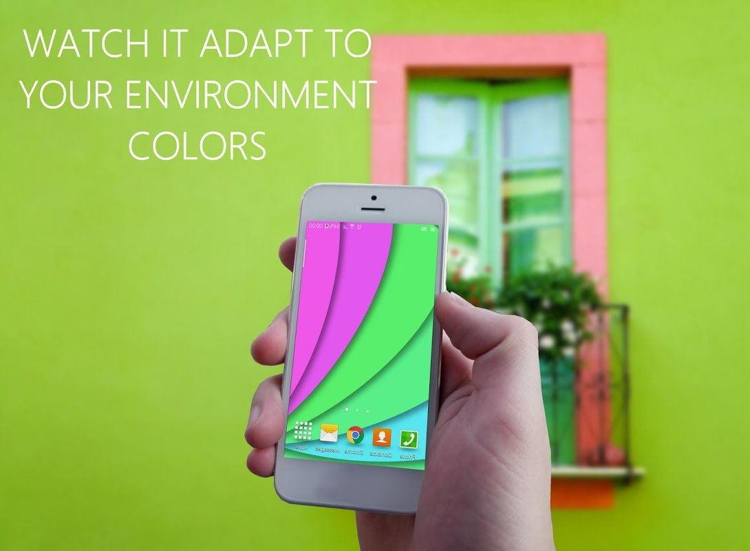 Chameleon Color Adapting LWP The App Store android Code Lads