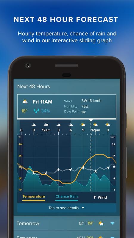 Screenshot Weatherzone APK