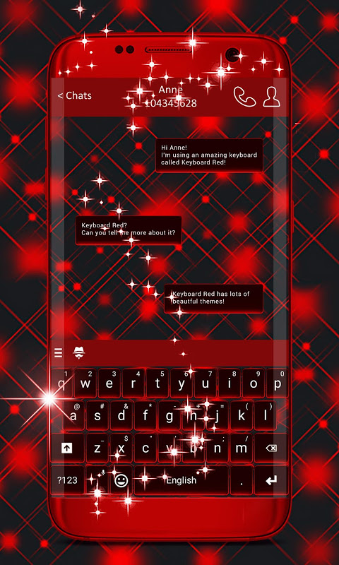Keyboard Red The App Store