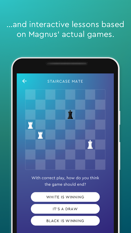 Screenshot Magnus Trainer - Learn & Train Chess APK