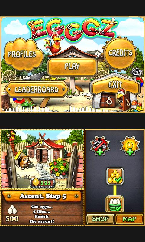 Screenshot EGGGZ lite APK