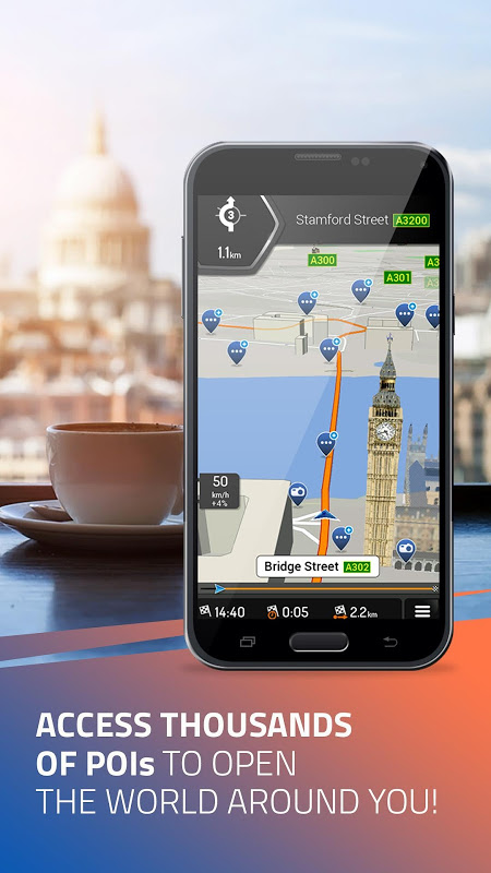 Screenshot iGO Navigation APK