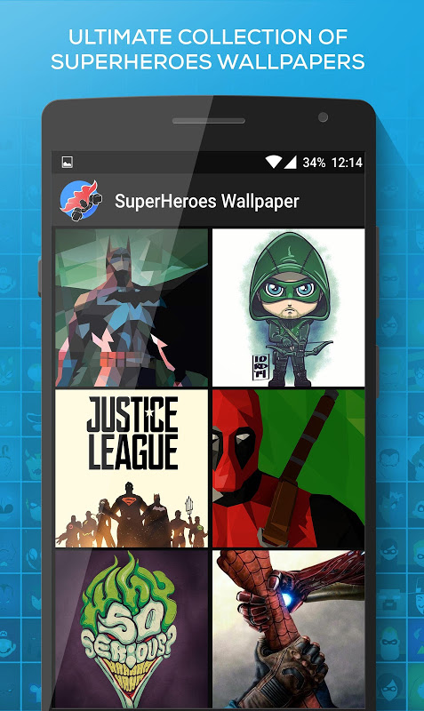 Screenshot SuperHeroes Wallpaper APK