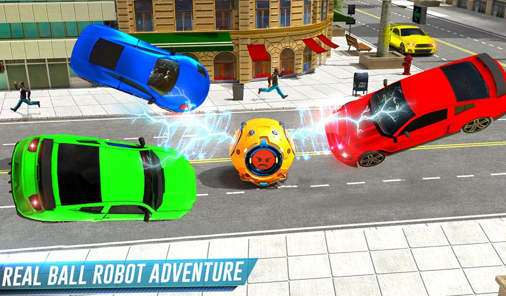 Futuristic Ball Robot Transform: Robot Games The App Store