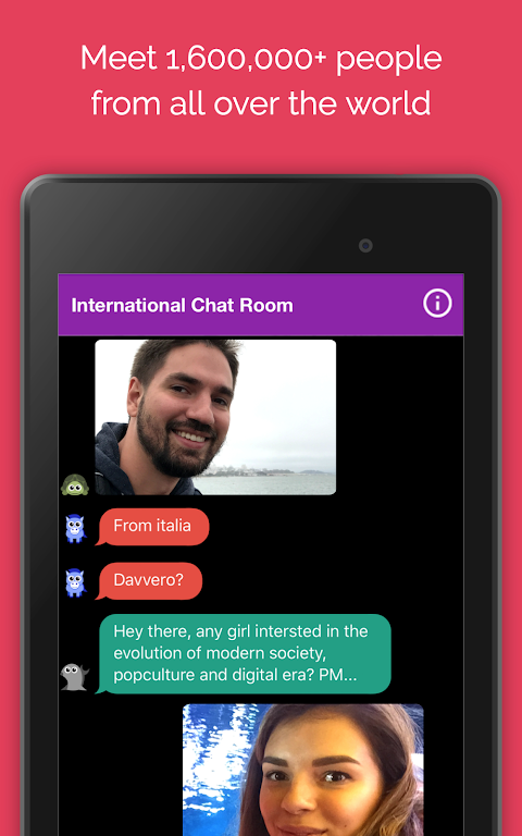 Screenshot Anonymous Chat Rooms for meeting new people – Anti APK