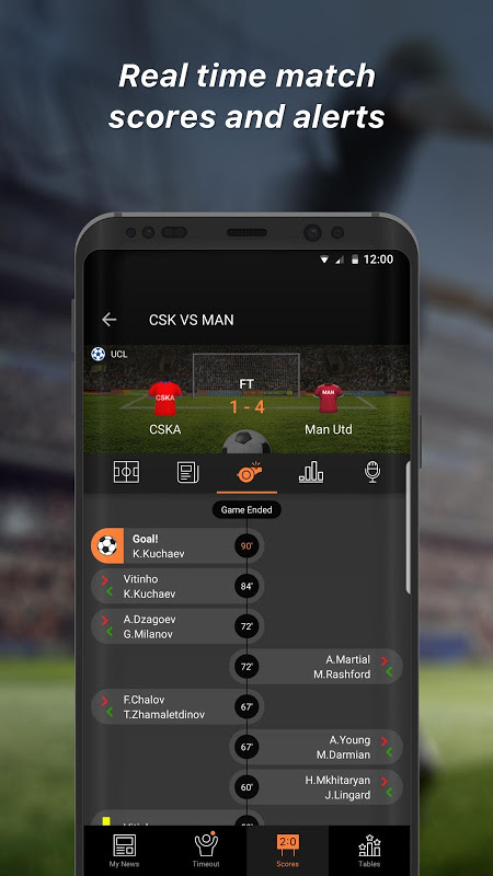 90min - The Football News App The App Store android Code Lads
