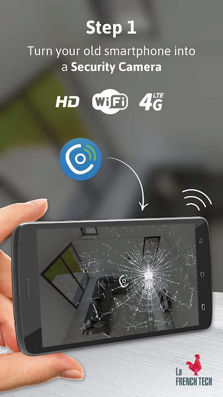 Turn my old phone into a Free Home Security Camera The App Store