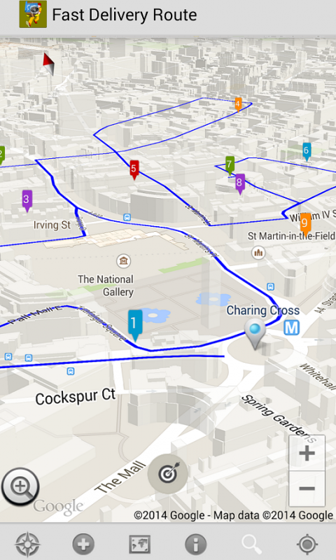 Screenshot Fast Delivery Route APK
