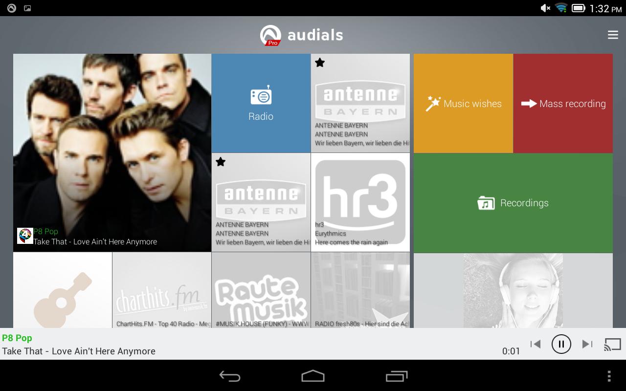 Audials Radio Pro The App Store