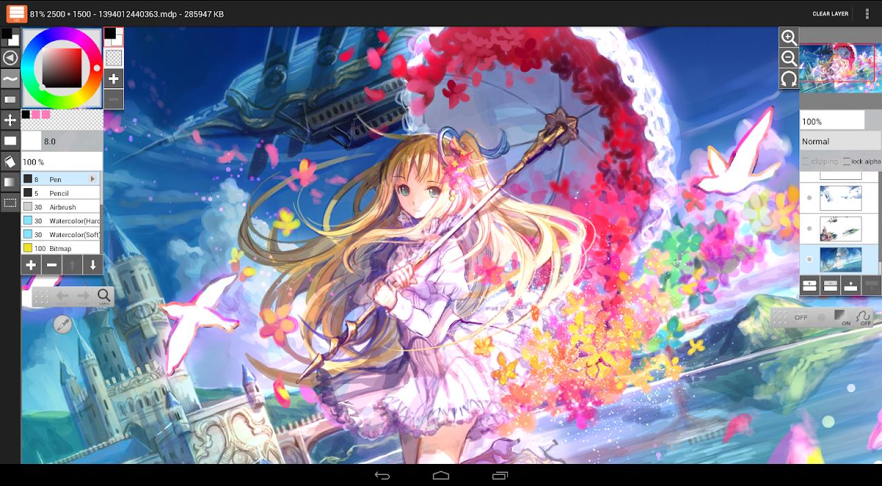 Screenshot LayerPaint HD APK