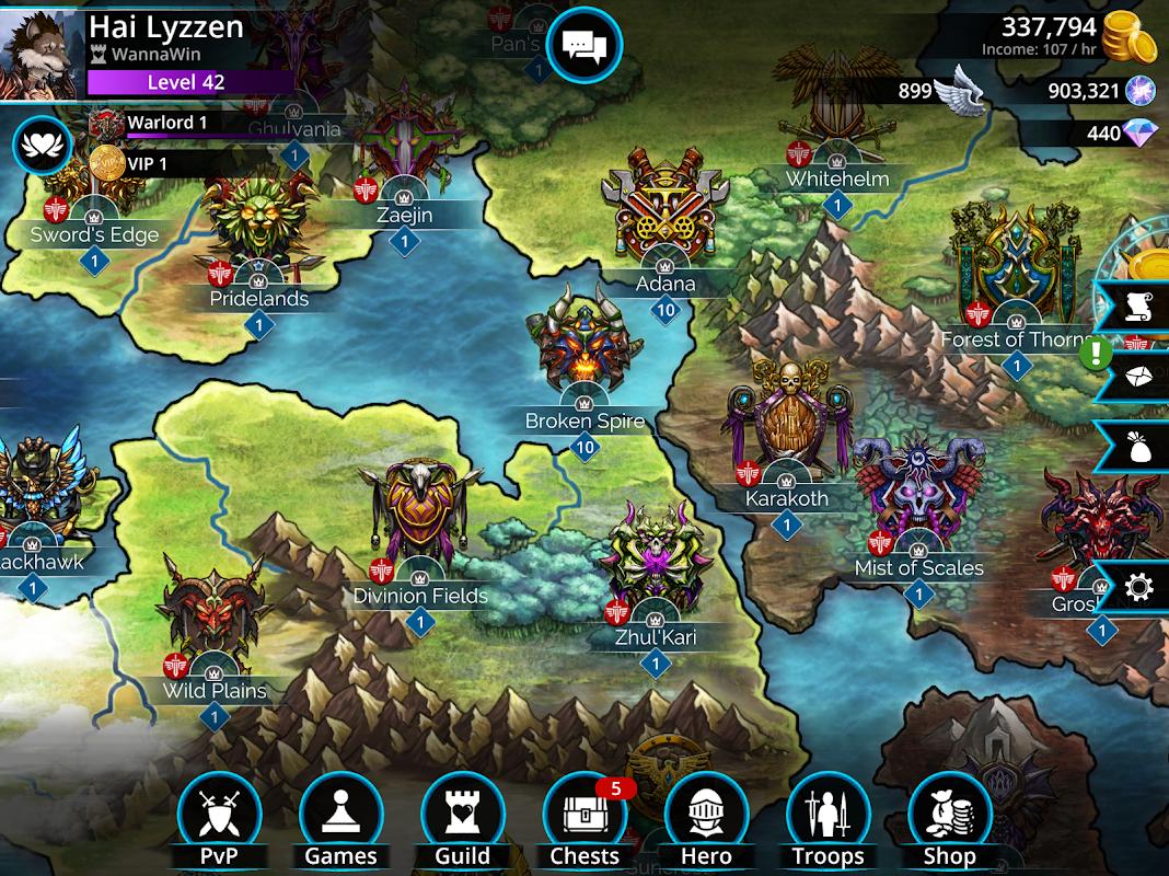 Screenshot Gems of War - Match 3 RPG APK