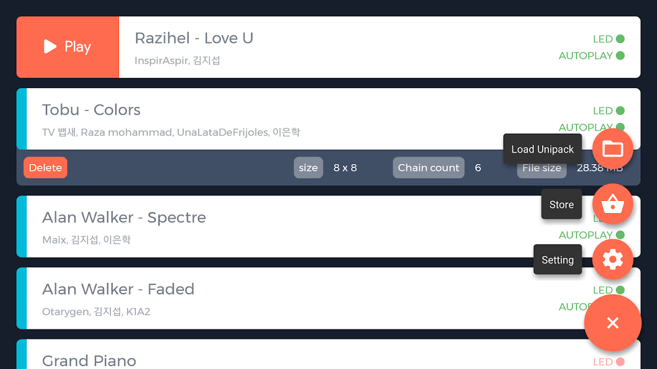 Screenshot UniPad APK