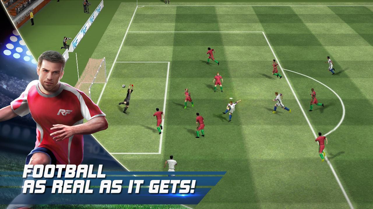 Screenshot Real Football APK
