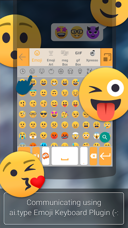 ai.type Emoji Keyboard plugin The App Store android Code Lads