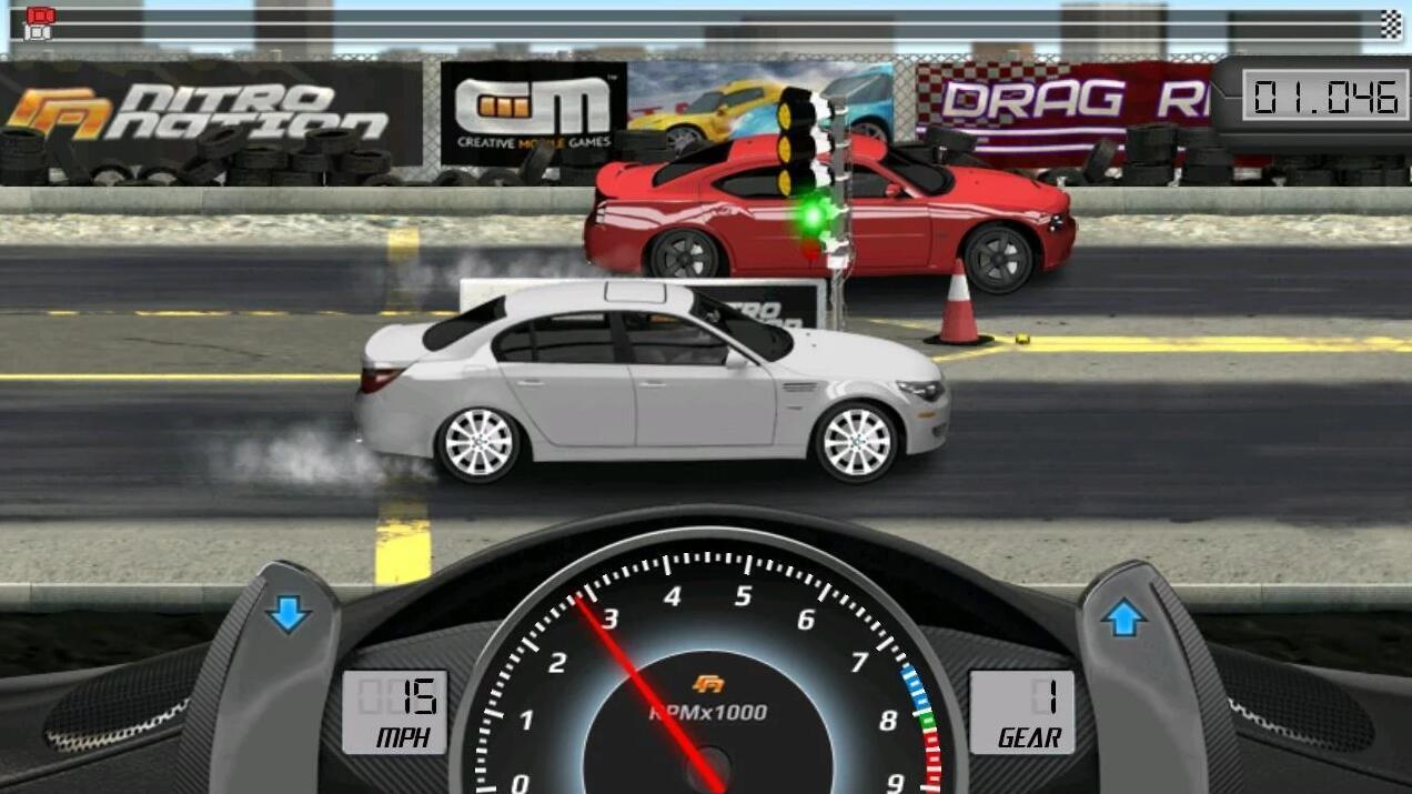 Screenshot Drag Racing APK