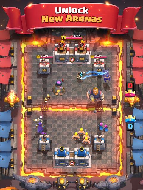 Screenshot Clash Royale APK