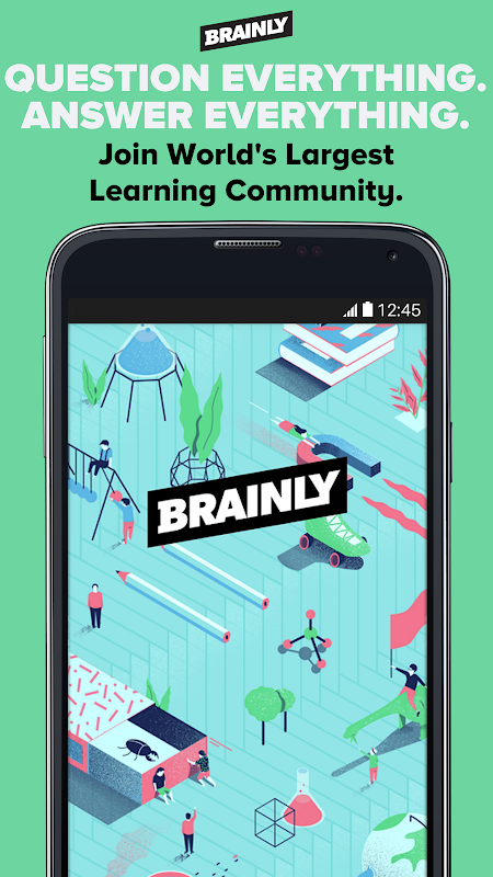 Screenshot Brainly - World's Largest Learning App APK