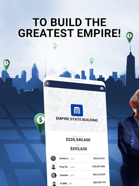 Screenshot Landlord Tycoon - Money Investing Idle with GPS APK