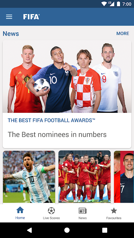 FIFA - Tournaments, Football News & Live Scores The App Store