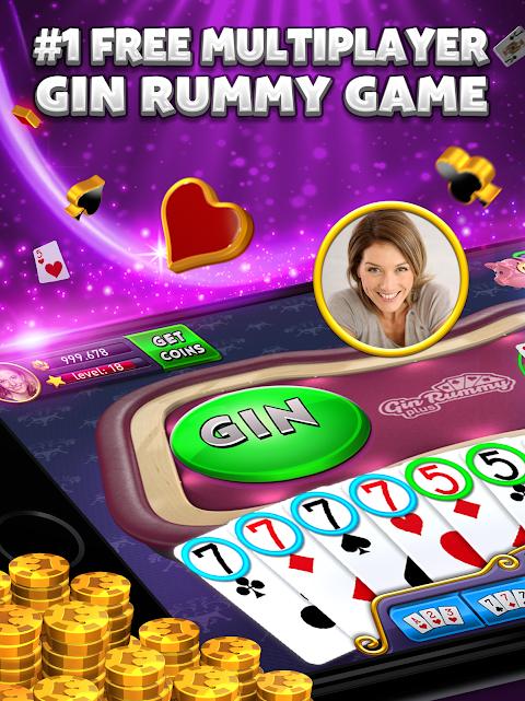 Screenshot Gin Rummy Plus APK
