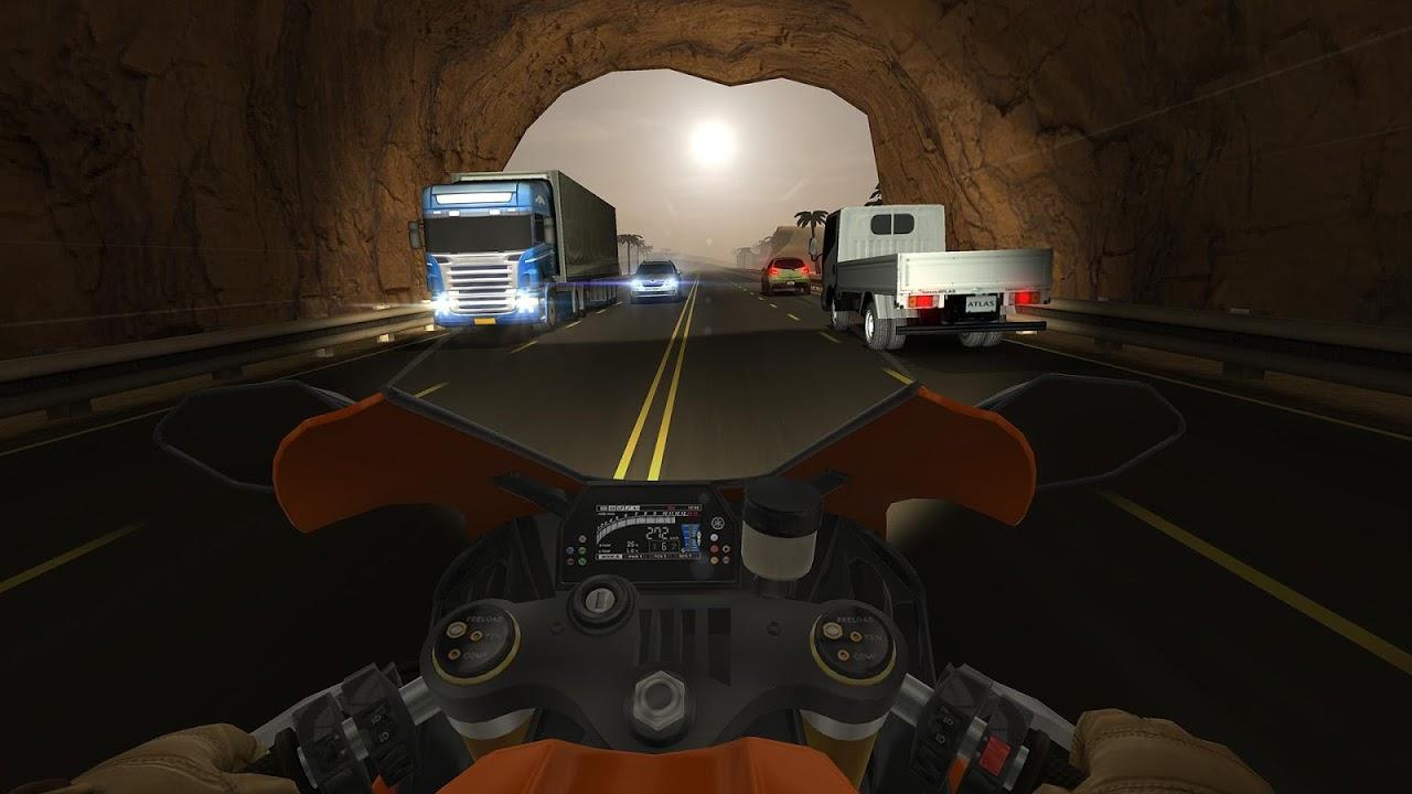 Screenshot Traffic Rider APK