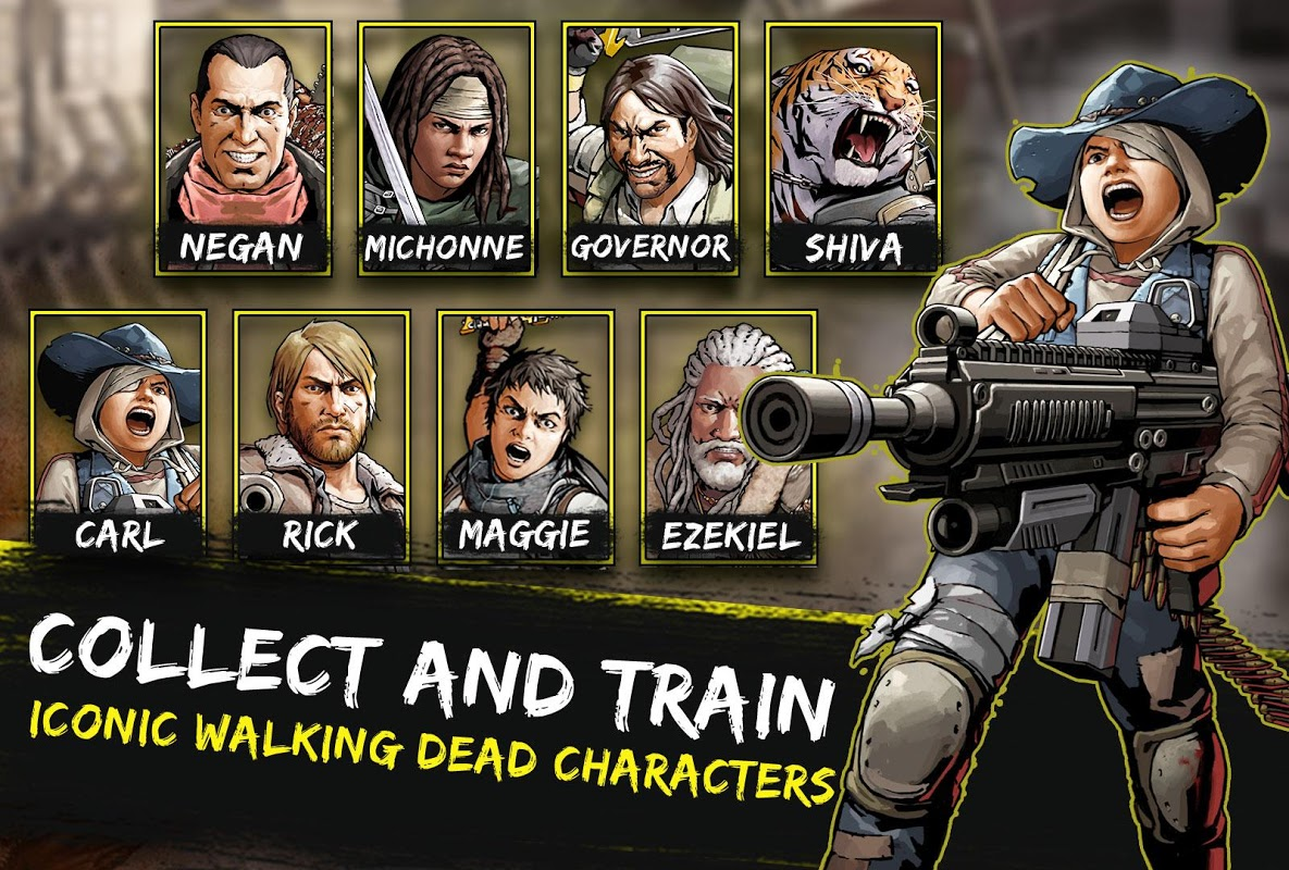 The Walking Dead: Road to Survival The App Store android Code Lads