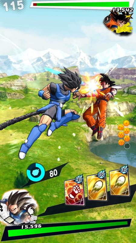 Screenshot DRAGON BALL LEGENDS APK