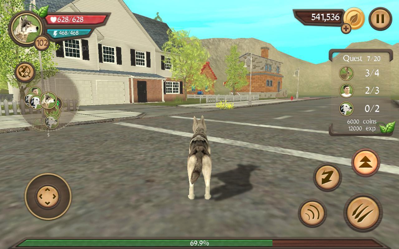 Screenshot Dog Sim Online: Raise a Family APK