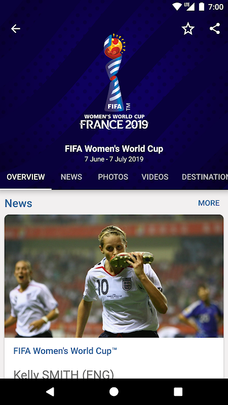 FIFA - Tournaments, Football News & Live Scores The App Store android Code Lads