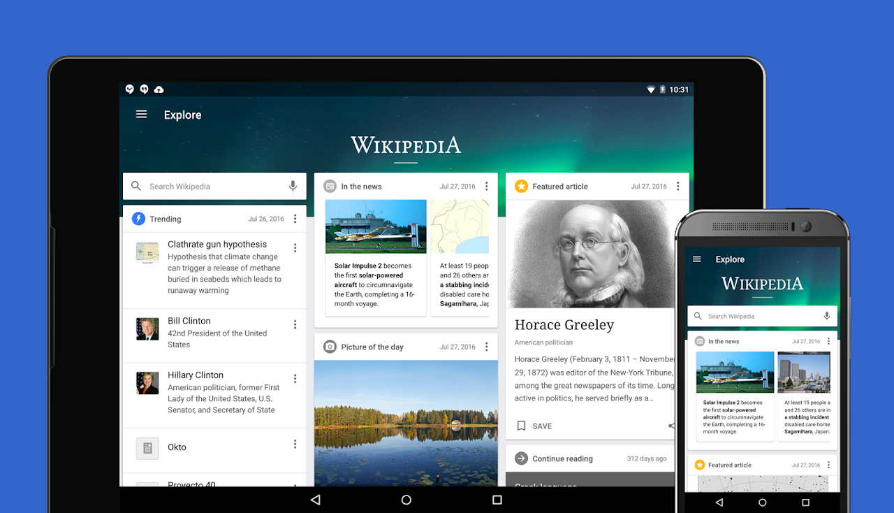 Screenshot Wikipedia Beta APK