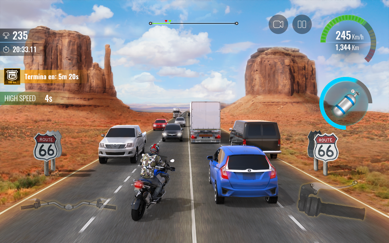 Screenshot Moto Traffic Race 2: Multiplayer APK