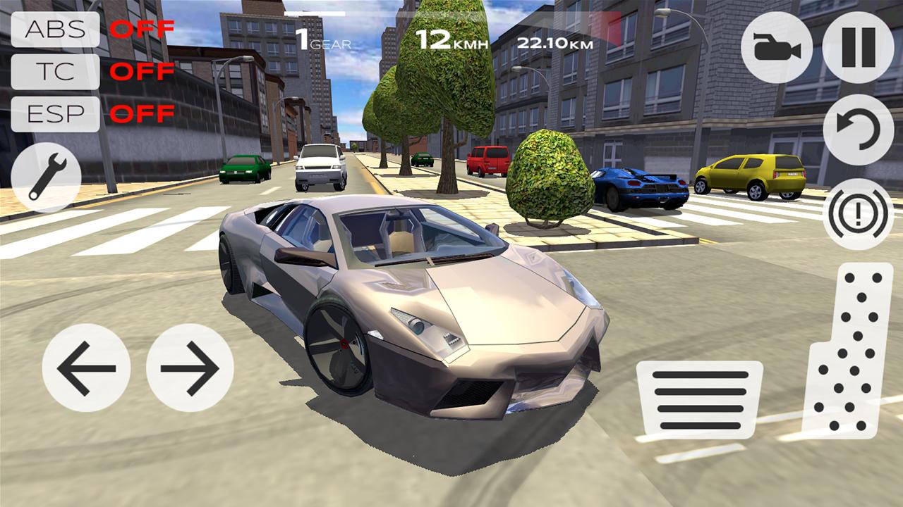 Screenshot Extreme Car Driving Simulator APK