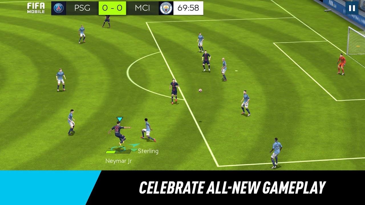 Screenshot FIFA Mobile Football APK