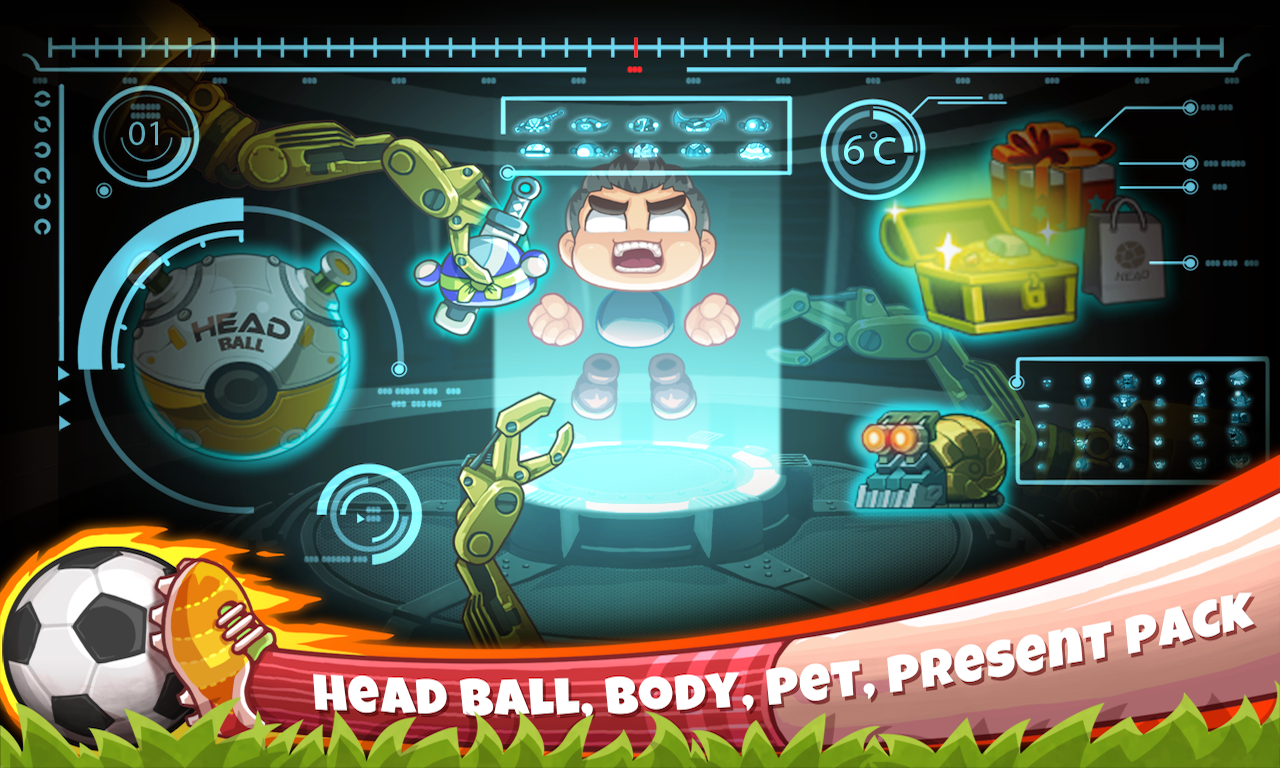Screenshot Head Soccer APK