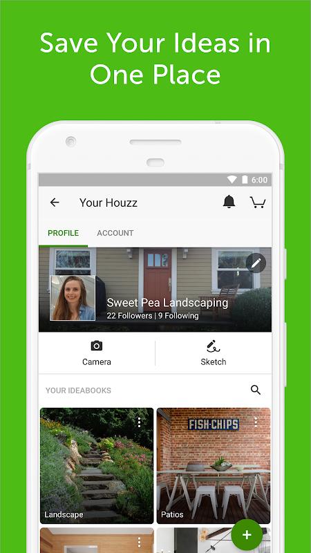 Screenshot Houzz Home Design & Shopping APK