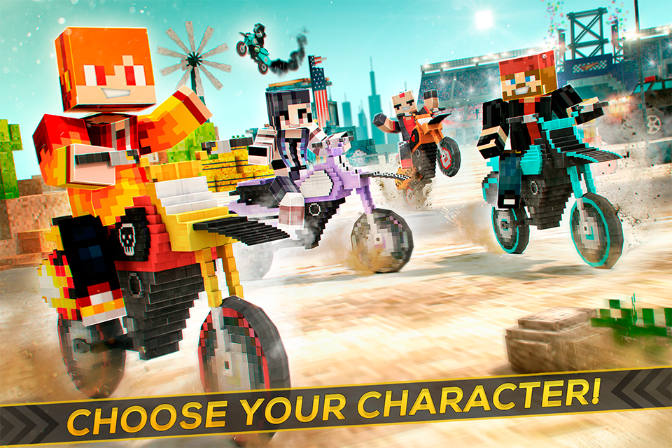 Dirtbike Survival Block Motos - Motorcycle Racing The App Store