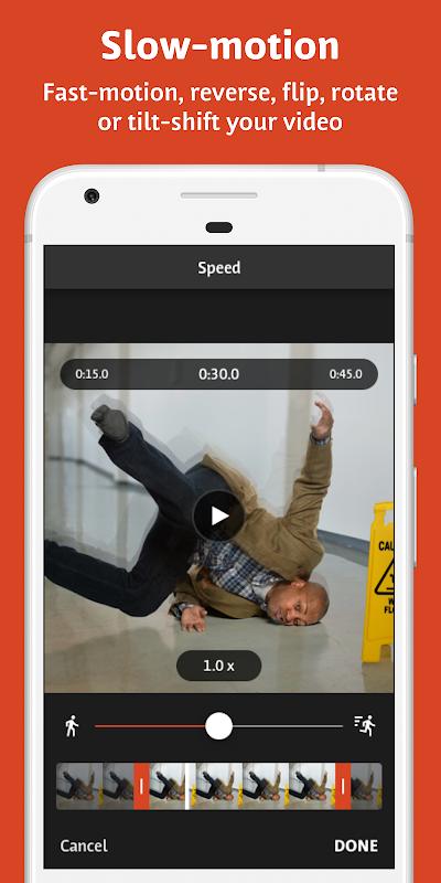 Screenshot Videoshop - Video Editor APK