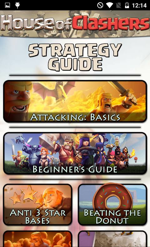 Screenshot Guide for Clash of Clans CoC APK
