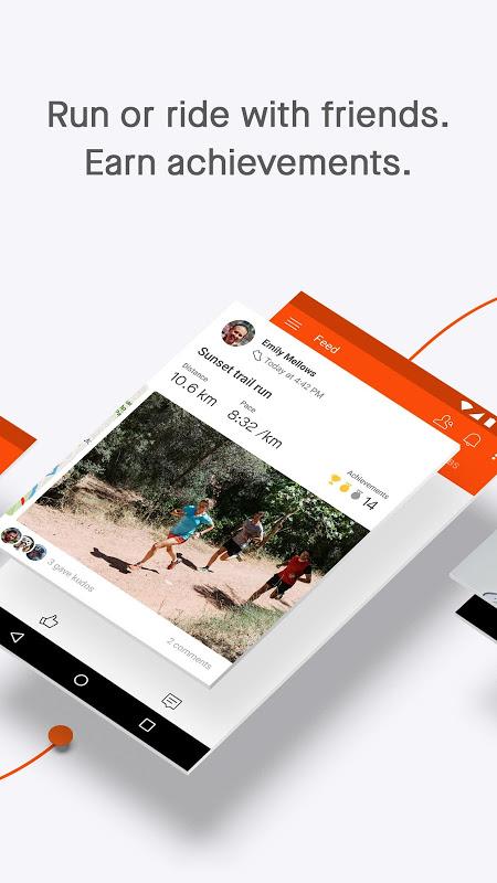 Screenshot Strava tracker: Record running, cycling & swimming APK