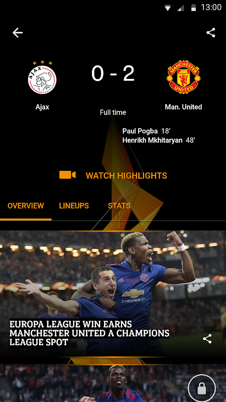 UEFA Europa League The App Store