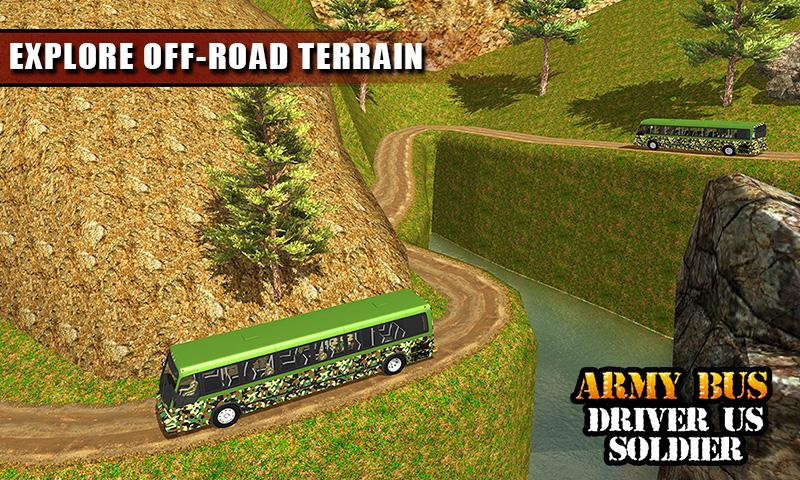 Screenshot Army Bus Driver US Soldier Transport Duty 2017 APK